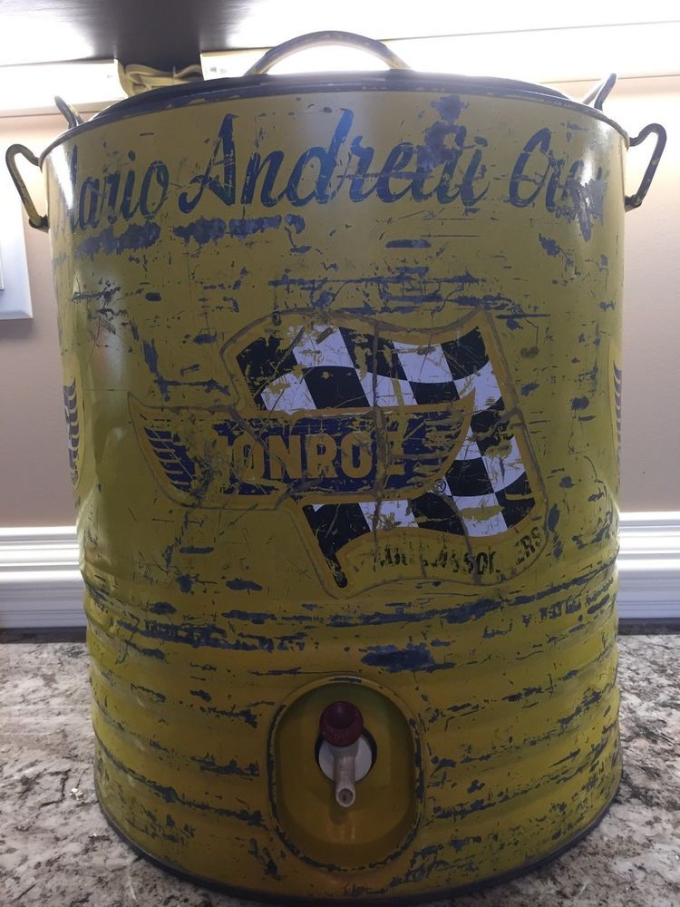 60'S NASCAR MARIO ANDRETTI RACE USED PIT CREW VINTAGE