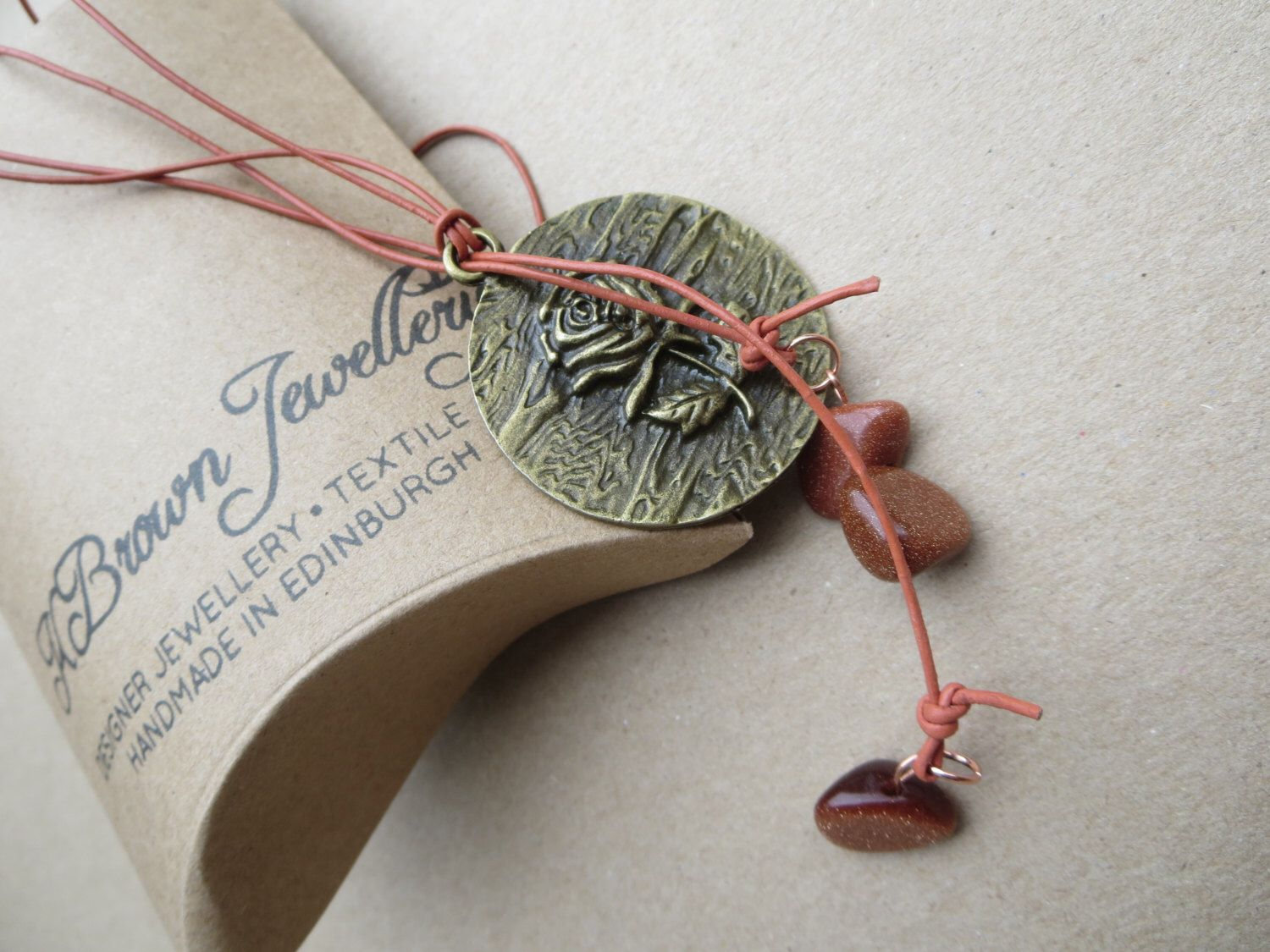 Excited to share the latest addition to my etsy shop rose pendant
