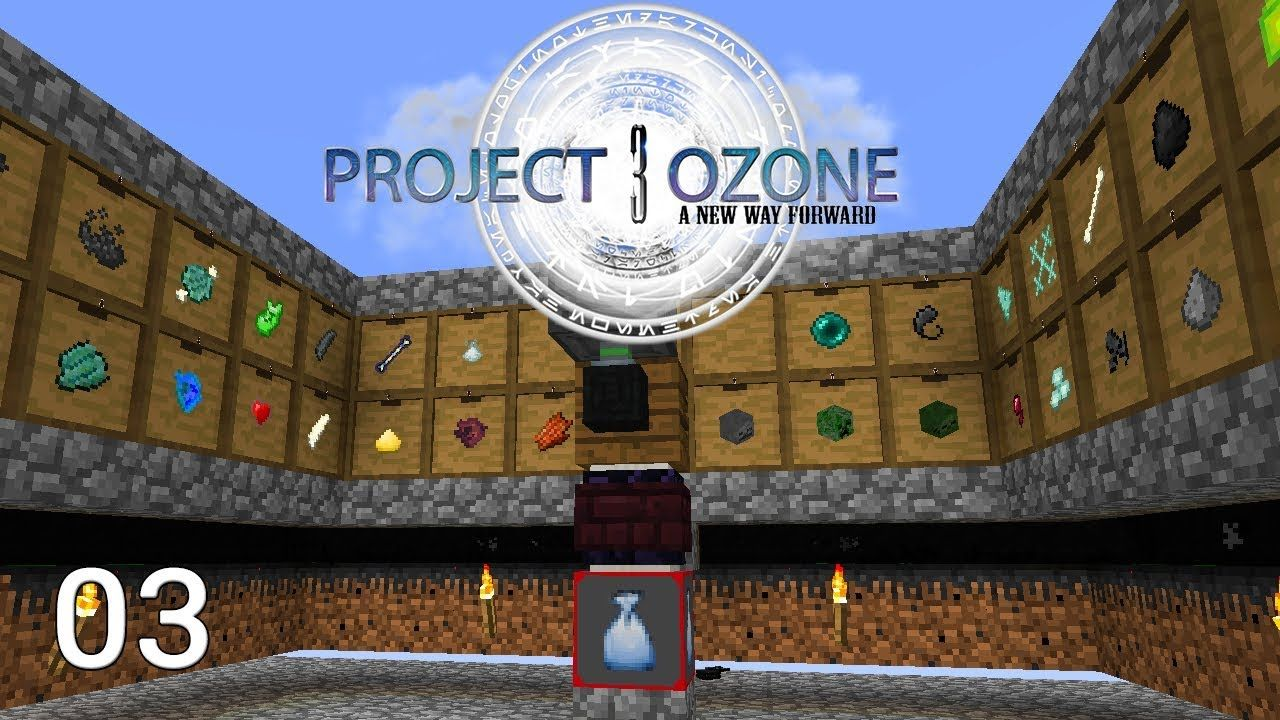 Project Ozone 3 Mob Farm Auto Sifter Automation
