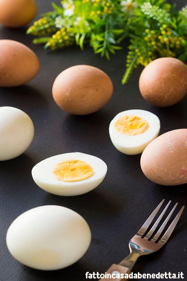 Uova sode perfette in poche mosse uova sode uova e for Cucinare uova sode