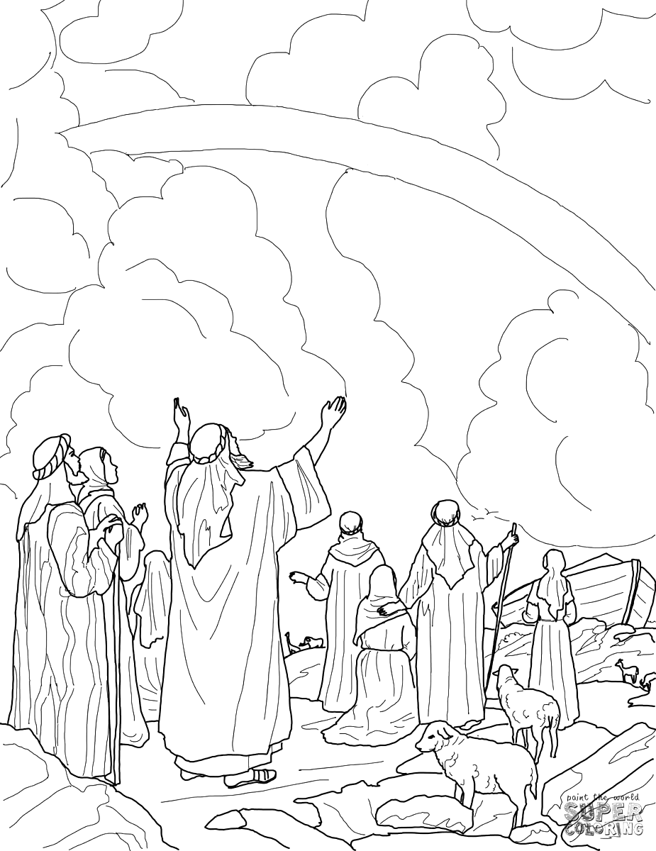 Noahs Ark Coloring Pages - coloring.rocks! in 2020 ...