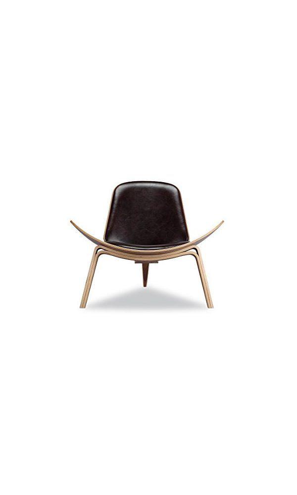 shell chair replica monogrammed toddler 0 nicer furniture hans wegner walnut black