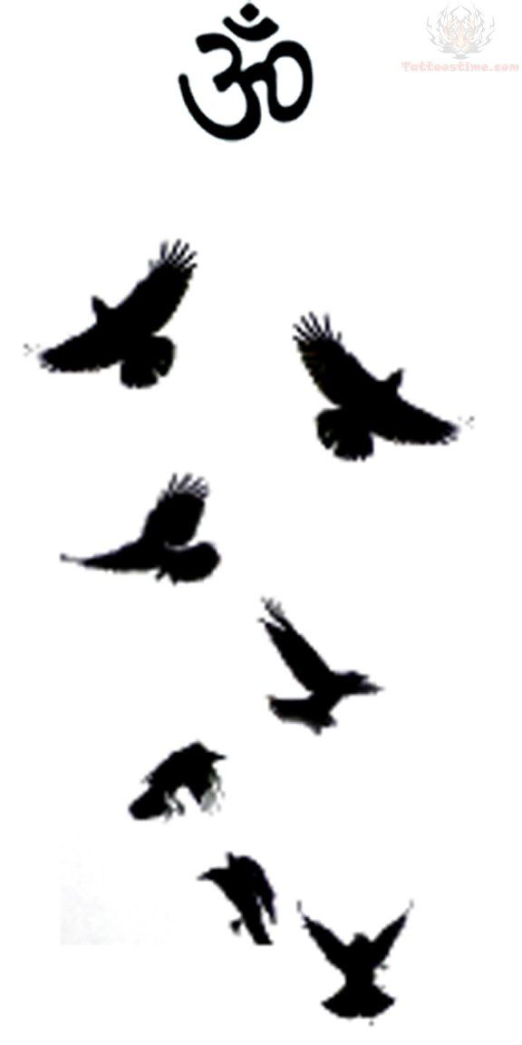 Image result for murder of crows tattoo | Tattoos | Crow tattoo ...