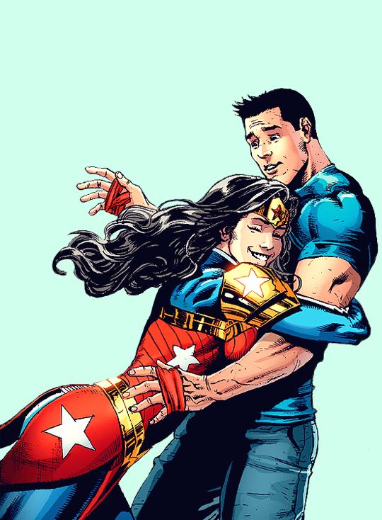 Loves wonder superman woman Doomed Love: