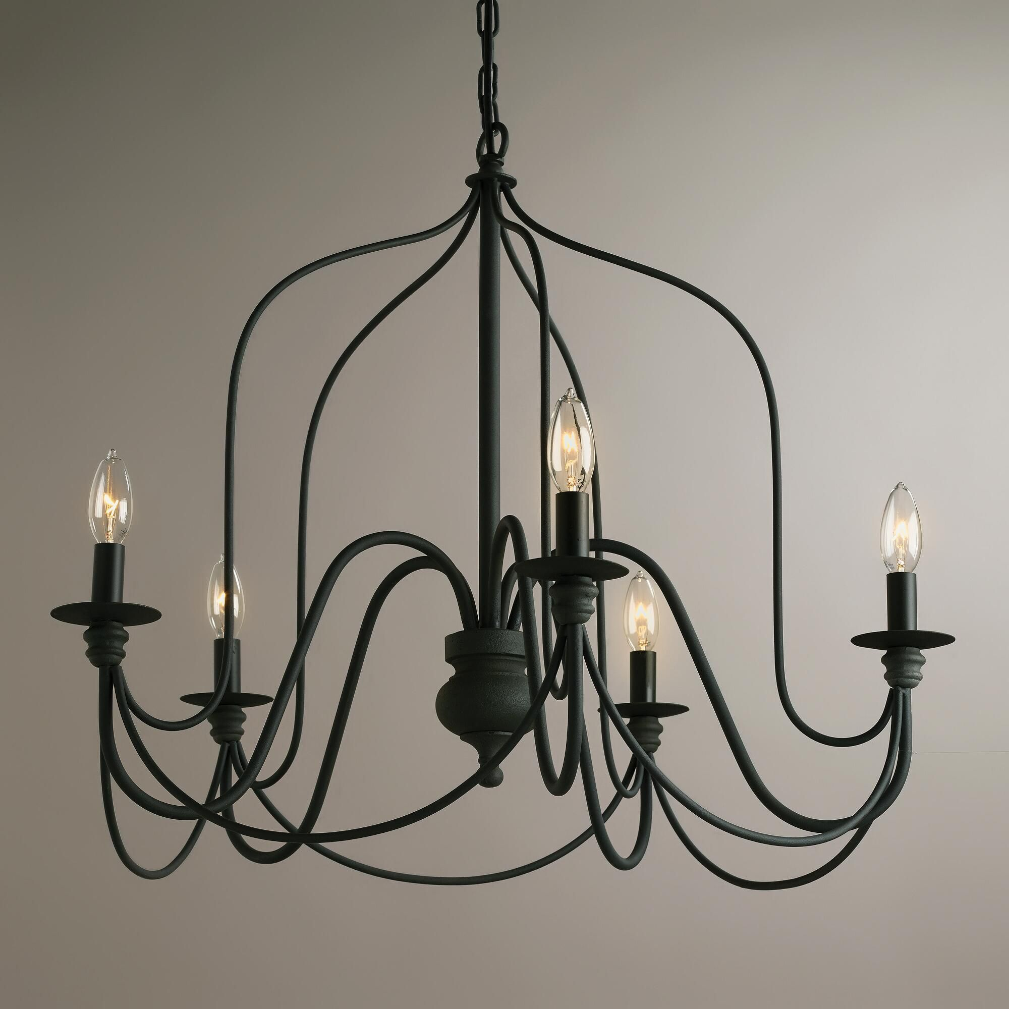 135 Dining Room WAS ON FIXER UPPER On Sale At World Market Rustic Wire Chandelier