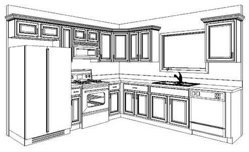 10x10 kitchen layouts - best home decoration world class | for the