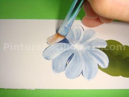 Pintar margaritas - Patrones para pintar en tela ...