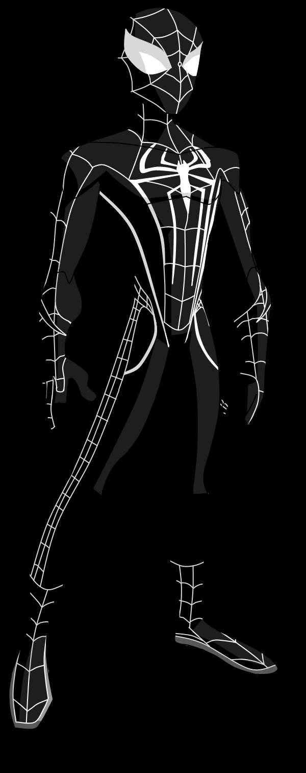 The Spectacular Amazing Spider Man Black Suit By Valrahmortem On Deviantart Visit To Grab An Amazing S Spiderman Black Suit Spiderman Suits Black Spiderman