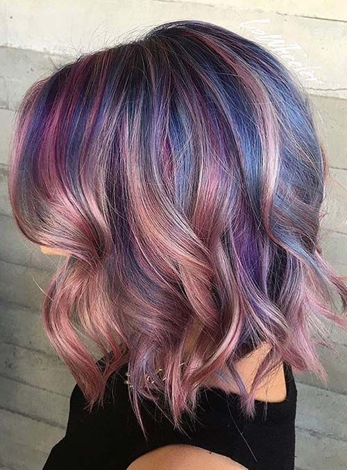 50 Bold Pastel And Neon Hair Colors In Balayage And Ombre Hair