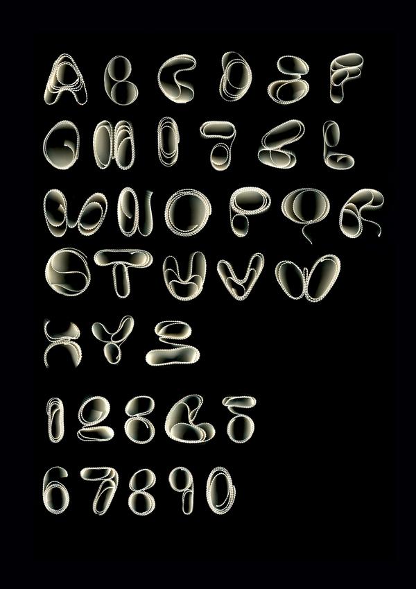 Channeled Light Font | Troy Hyde
