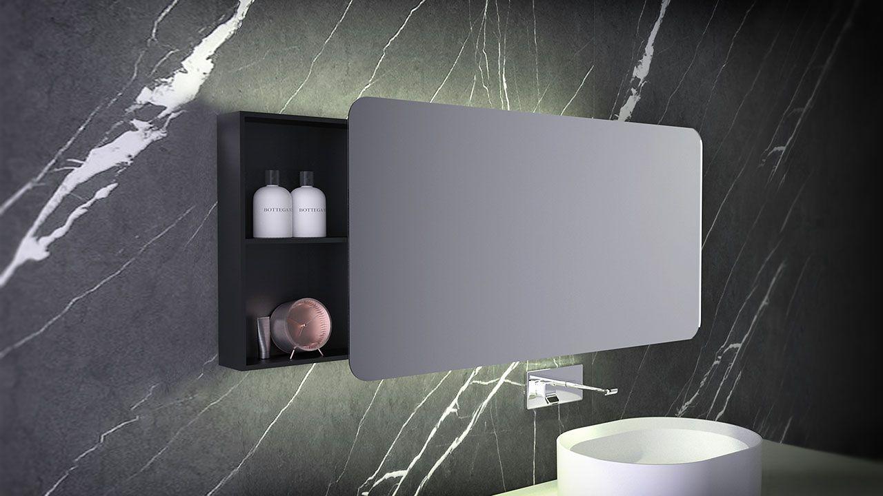 Mirror With Storage Storage Mirror Mirror Modern Bathrooms