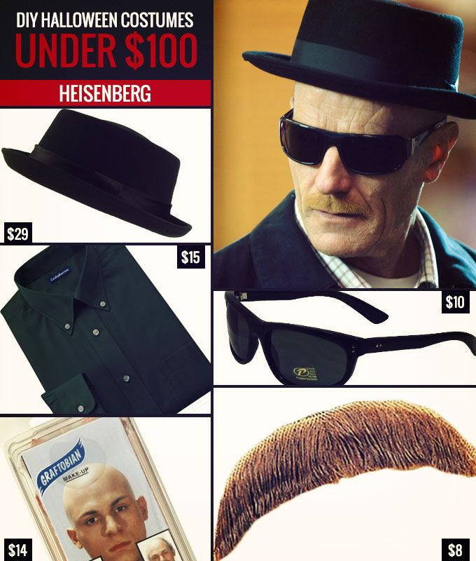 DIY Costumes Under $100 Heisenberg  sc 1 st  Pinterest & DIY Costumes Under $100 Heisenberg | DIY Halloween Costumes Under ...