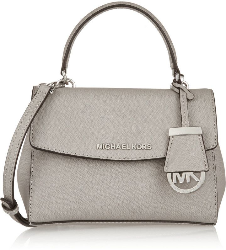 7809cd10f6ab MICHAEL Michael Kors Ava Mini Textured-Leather Shoulder Bag