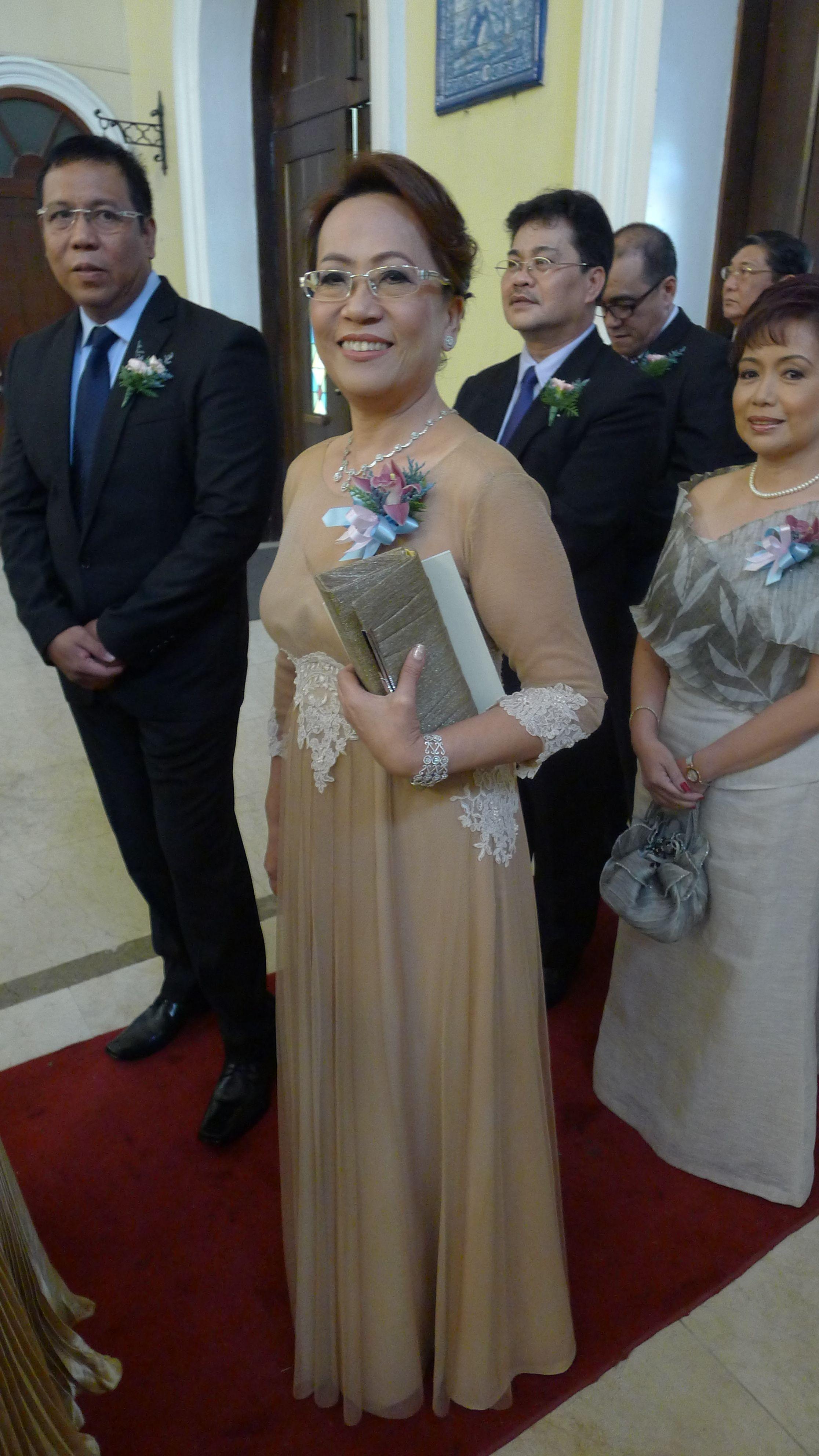 Principal Sponsor -aunt Of The Groom