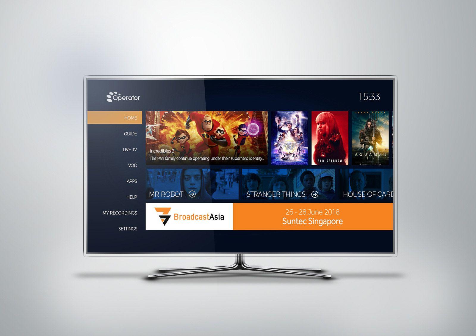 Pin on TV UI