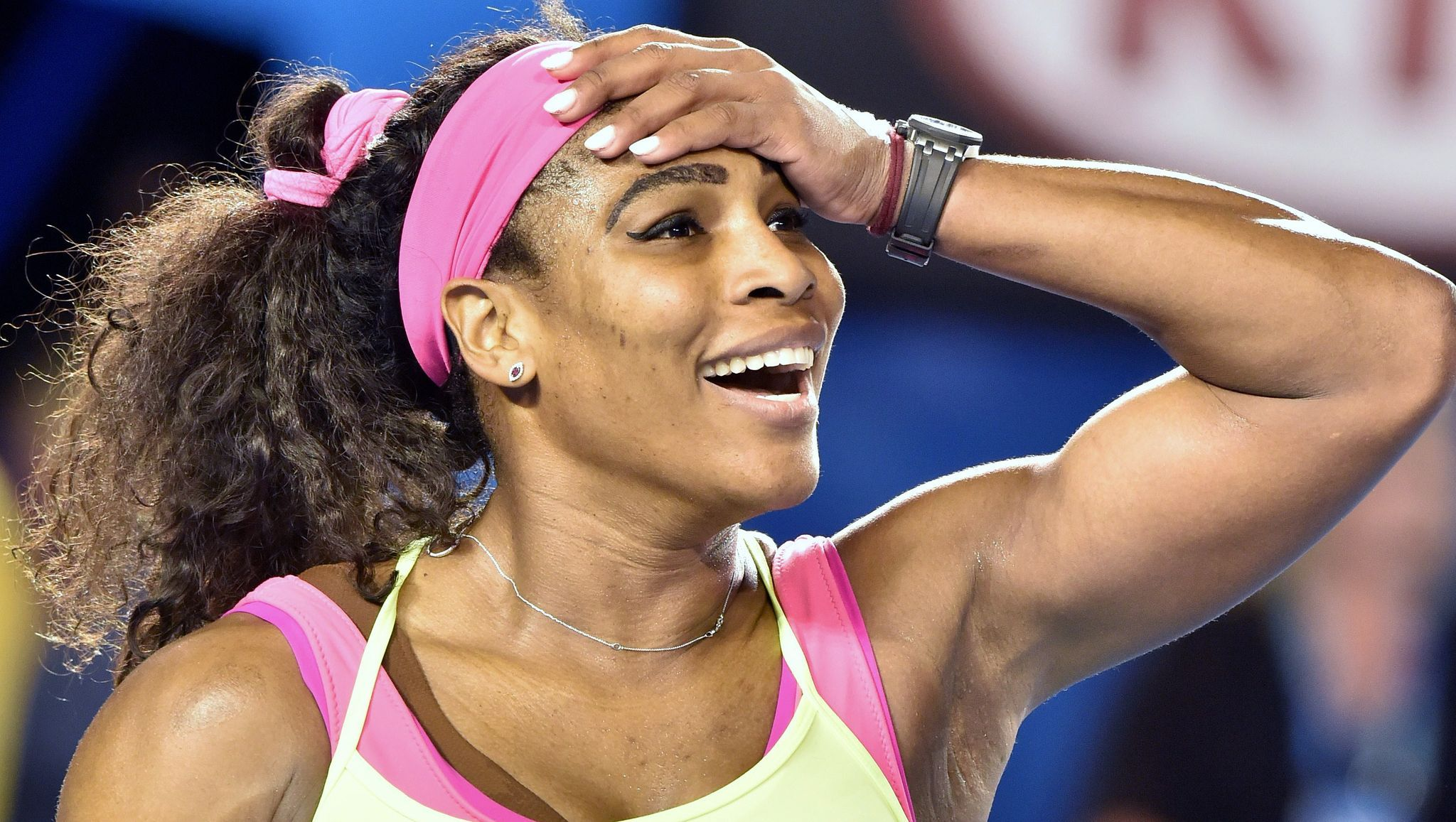 With 19th Grand Slam Serena Williams Eyes Graf S Record Serena Williams Tennis Players Female Tennis Players