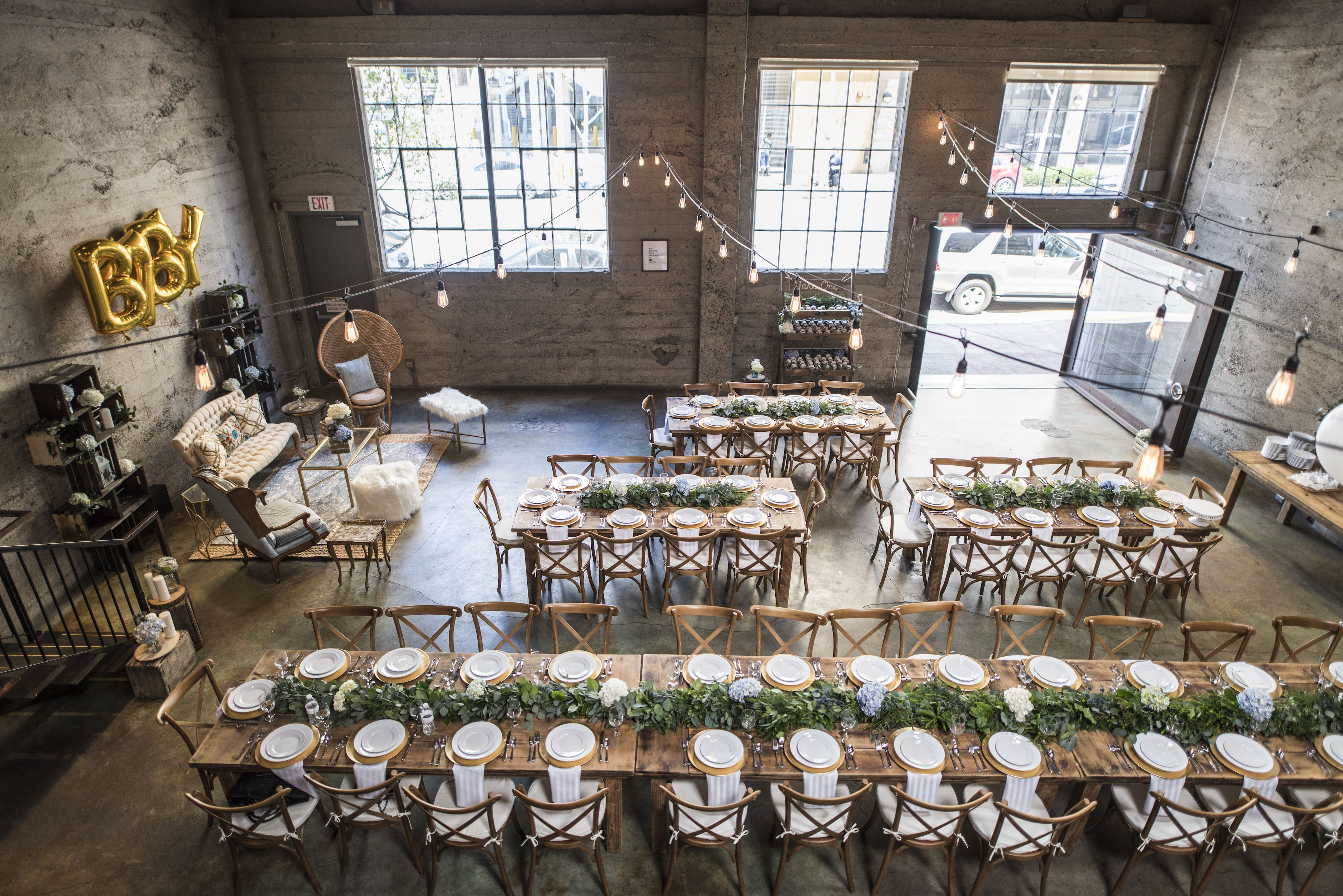 Farm tables and more san diego event rentals baby