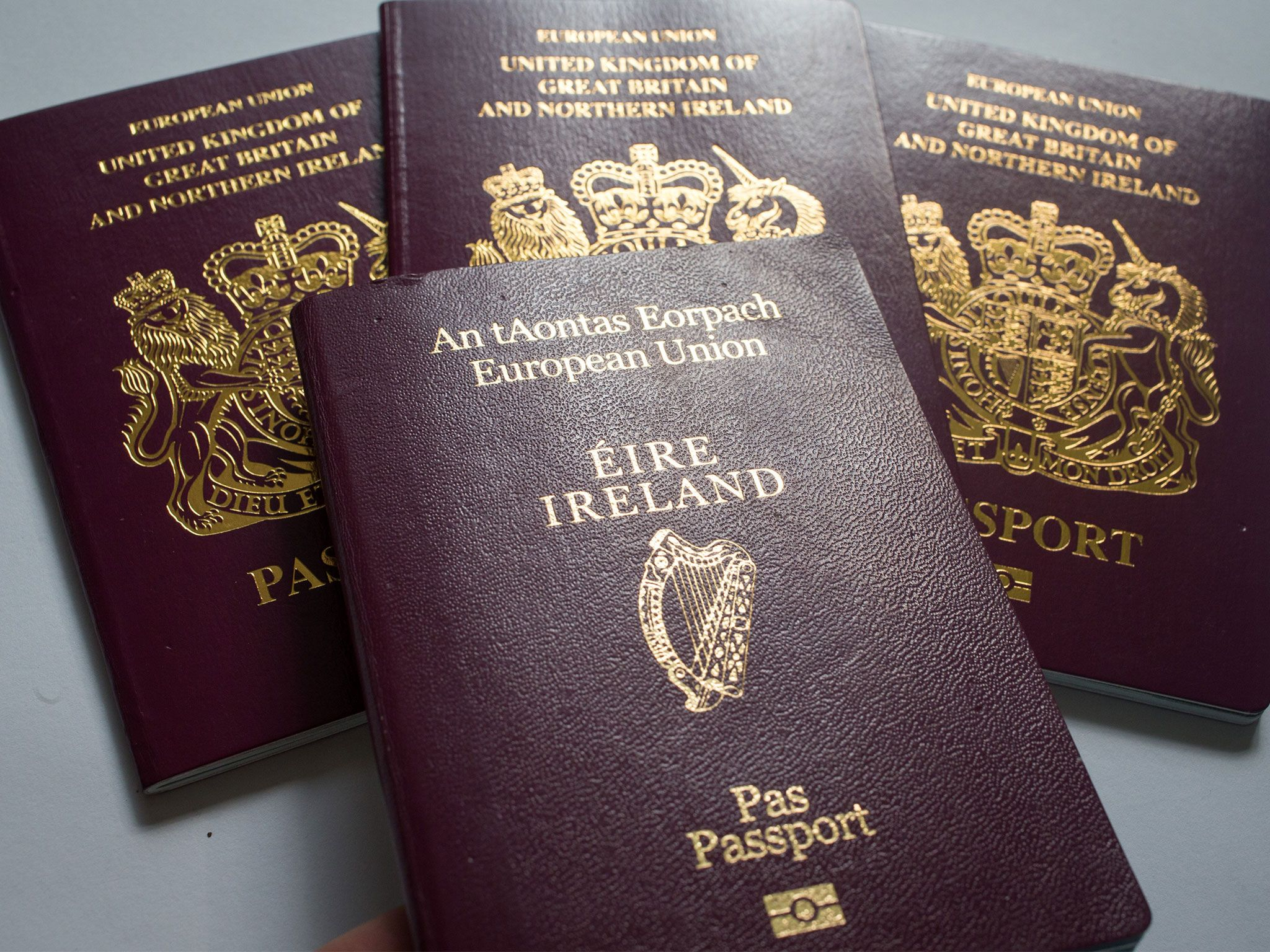 Extraordinary Number Of Britons Are Applying For Irish Passports Because Of Brexit Passport Online Passport Application Biometric Passport