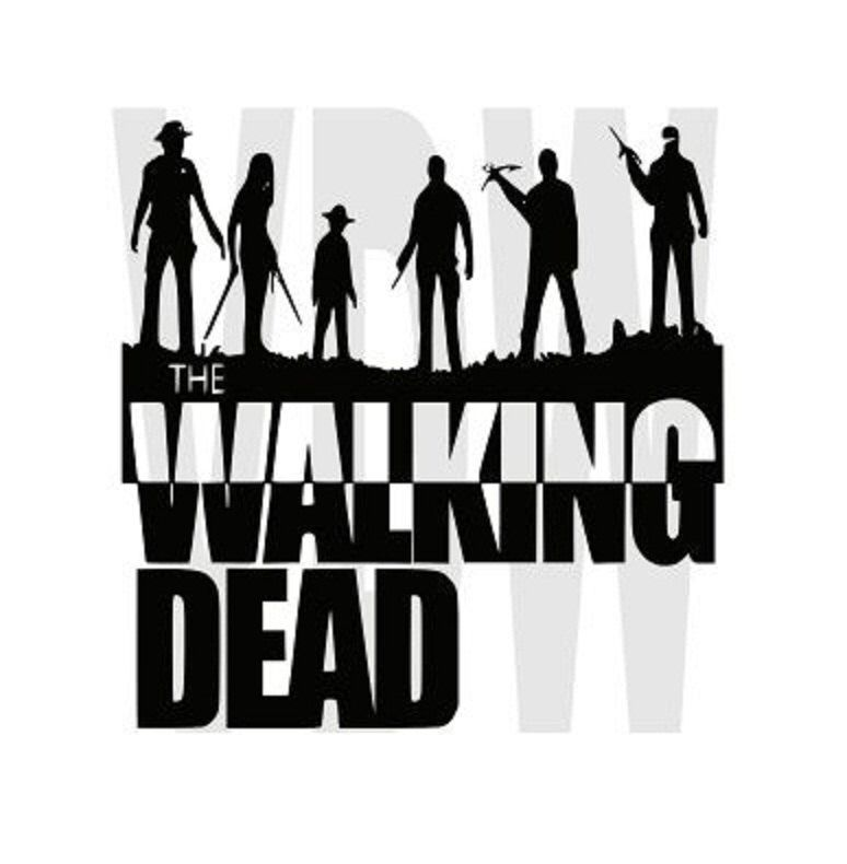 Items similar to walking dead wall decal sticker decor sticker vinyl the walking dead collection 2 on etsy
