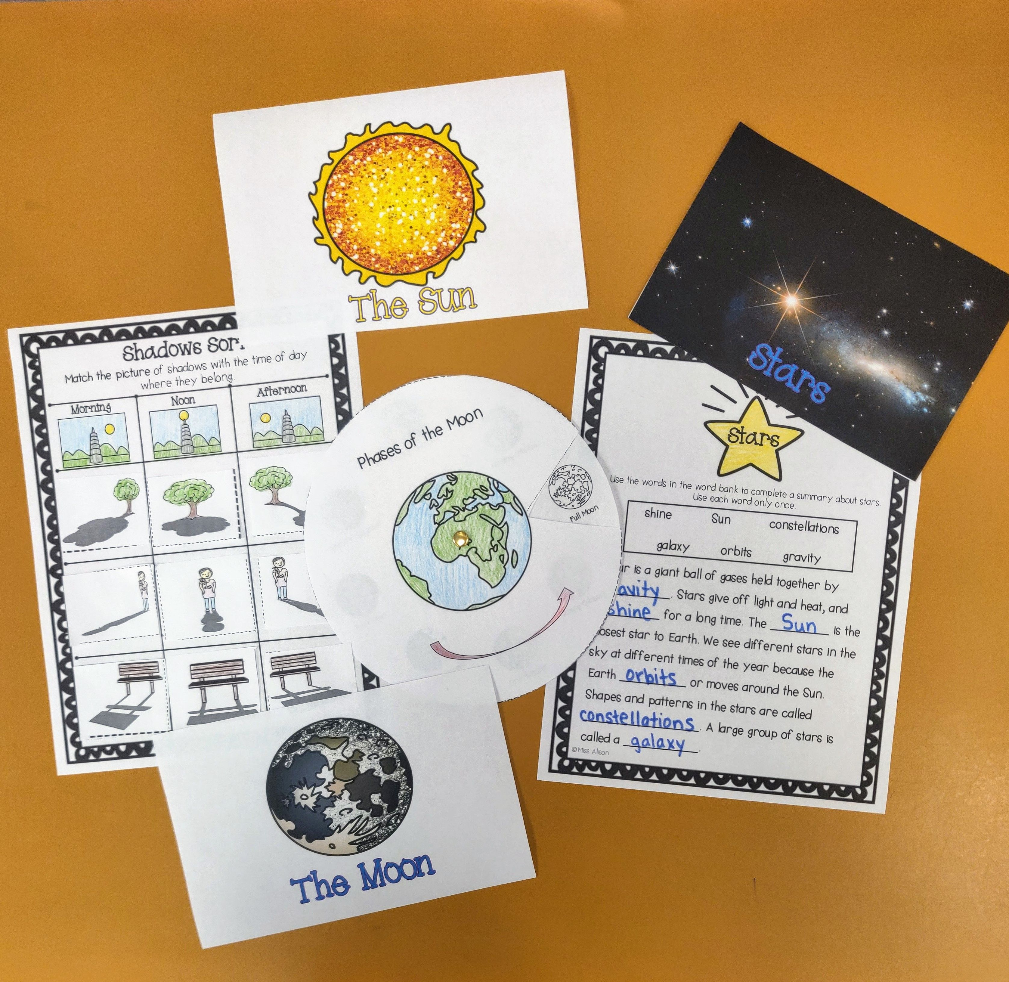 Sun Moon And Stars A Ngss Science Unit Works With