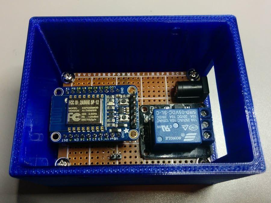 Esp8266 Garage Door Monitor Smarthome Schtuff And Things