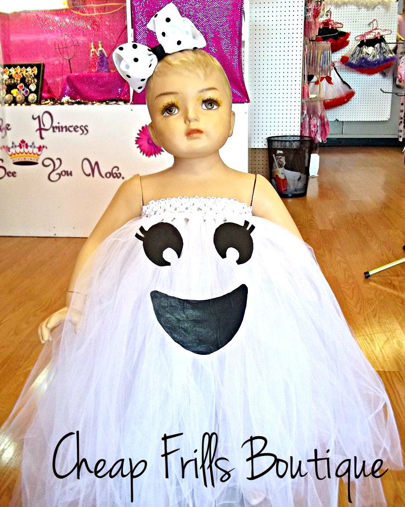 Baby Infant Toddler Girl GHOST TUTU Halloween Costume Dress Hair Bow 1 2T 3T 4T |  sc 1 st  Pinterest & Baby Infant Toddler Girl GHOST TUTU Halloween Costume Dress Hair Bow ...