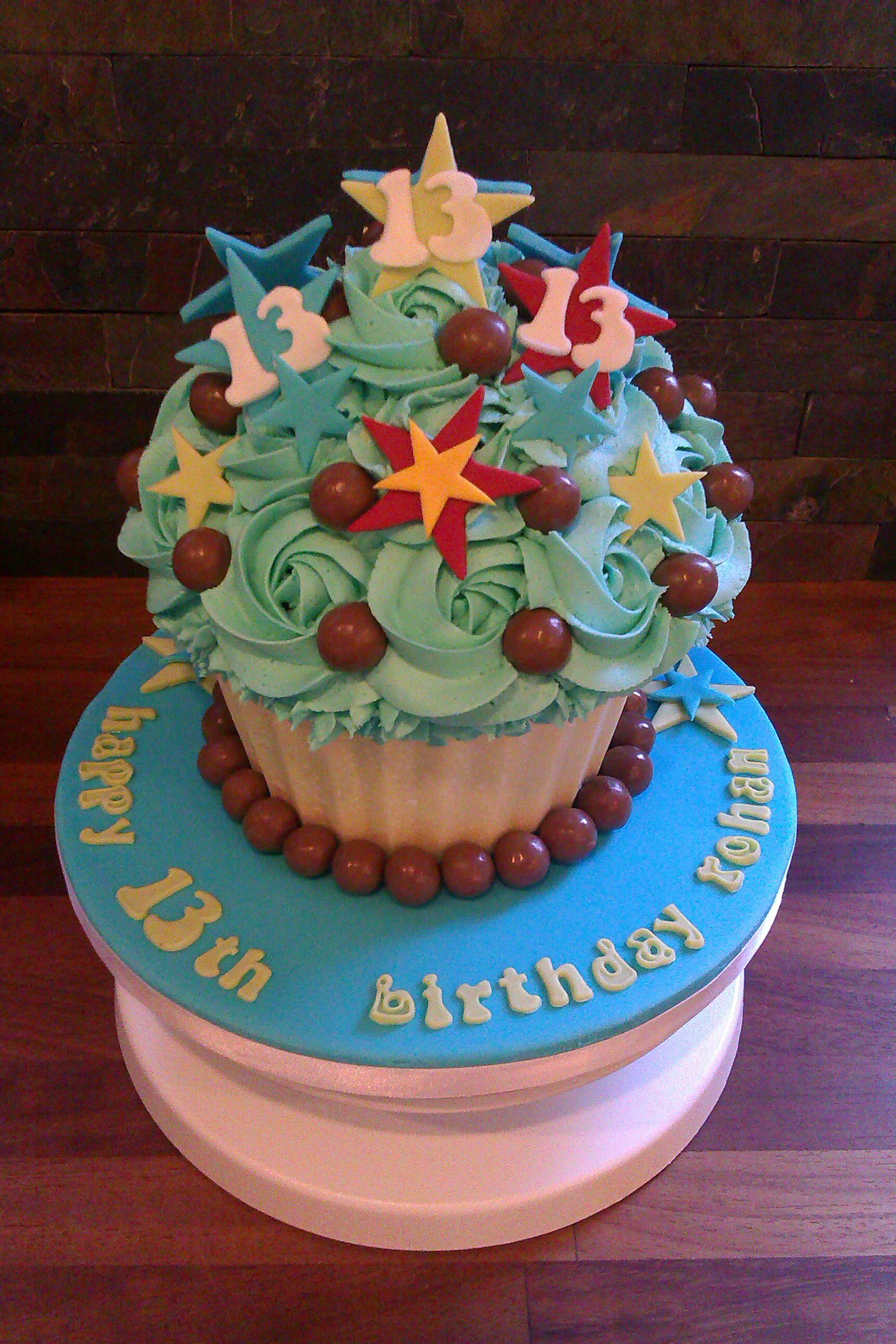 Giant Cupcake Big cupcake, Cake, Cake inspiration