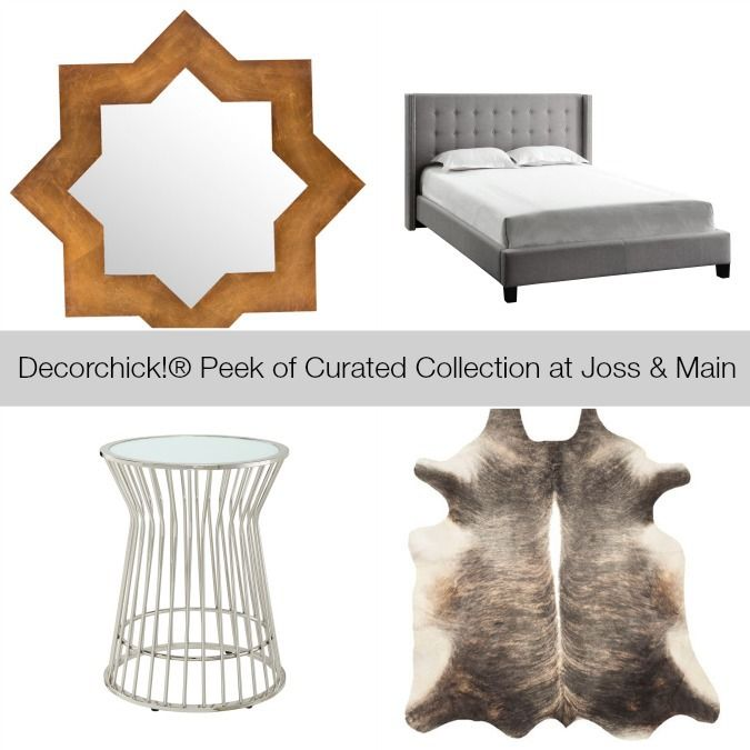 My curator event at joss main ends tomorrow lots of great items left decorchick blog Home decor joss and main