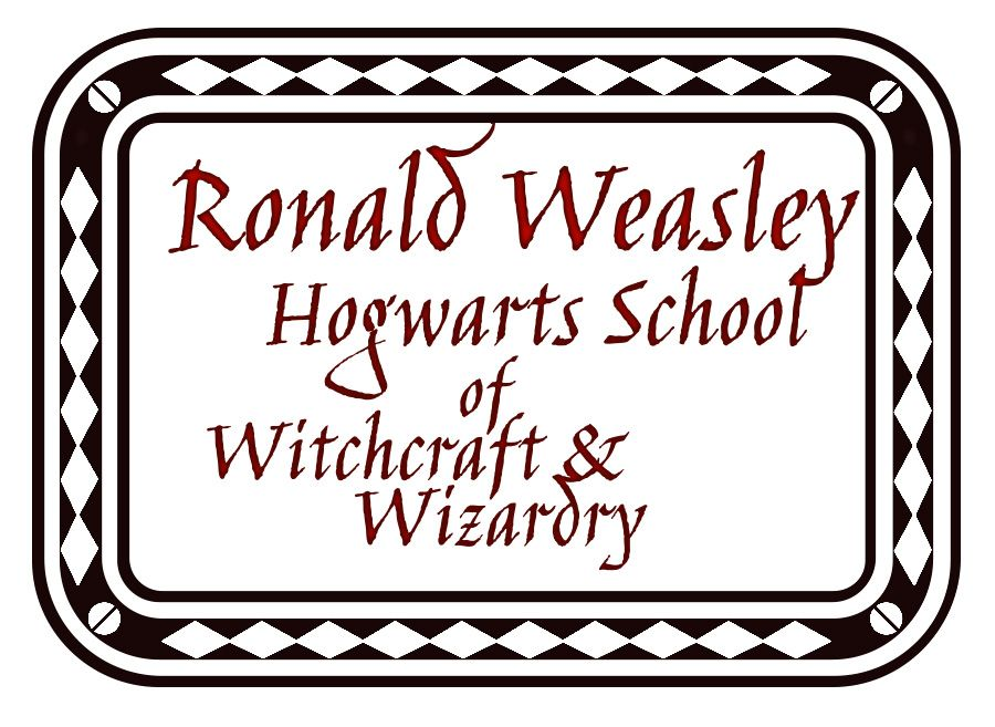 address stamp for rons howler letter harry potter and the chamber of secrets