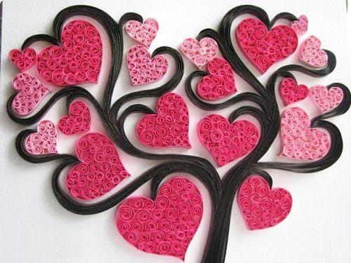 Làm thiệp giấy cuộn đẹp lung linh tặng bạn bè người thương http://dohandmadedep.com/lam-thiep-giay-cuon-dep-lung-linh-tang-ban-nguoi-thuong/