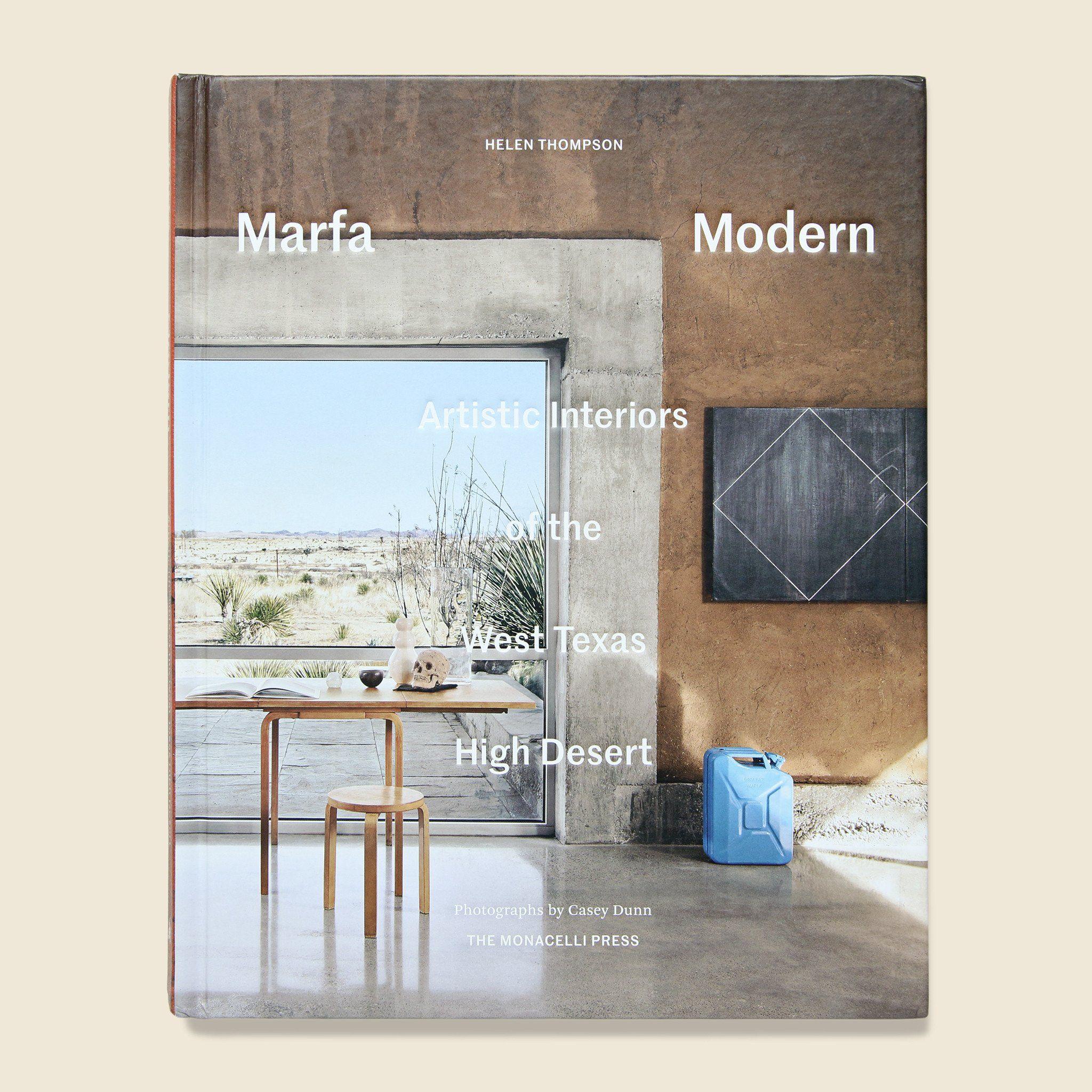 Marfa Modern - Helen Thompson | Modern books, Desert