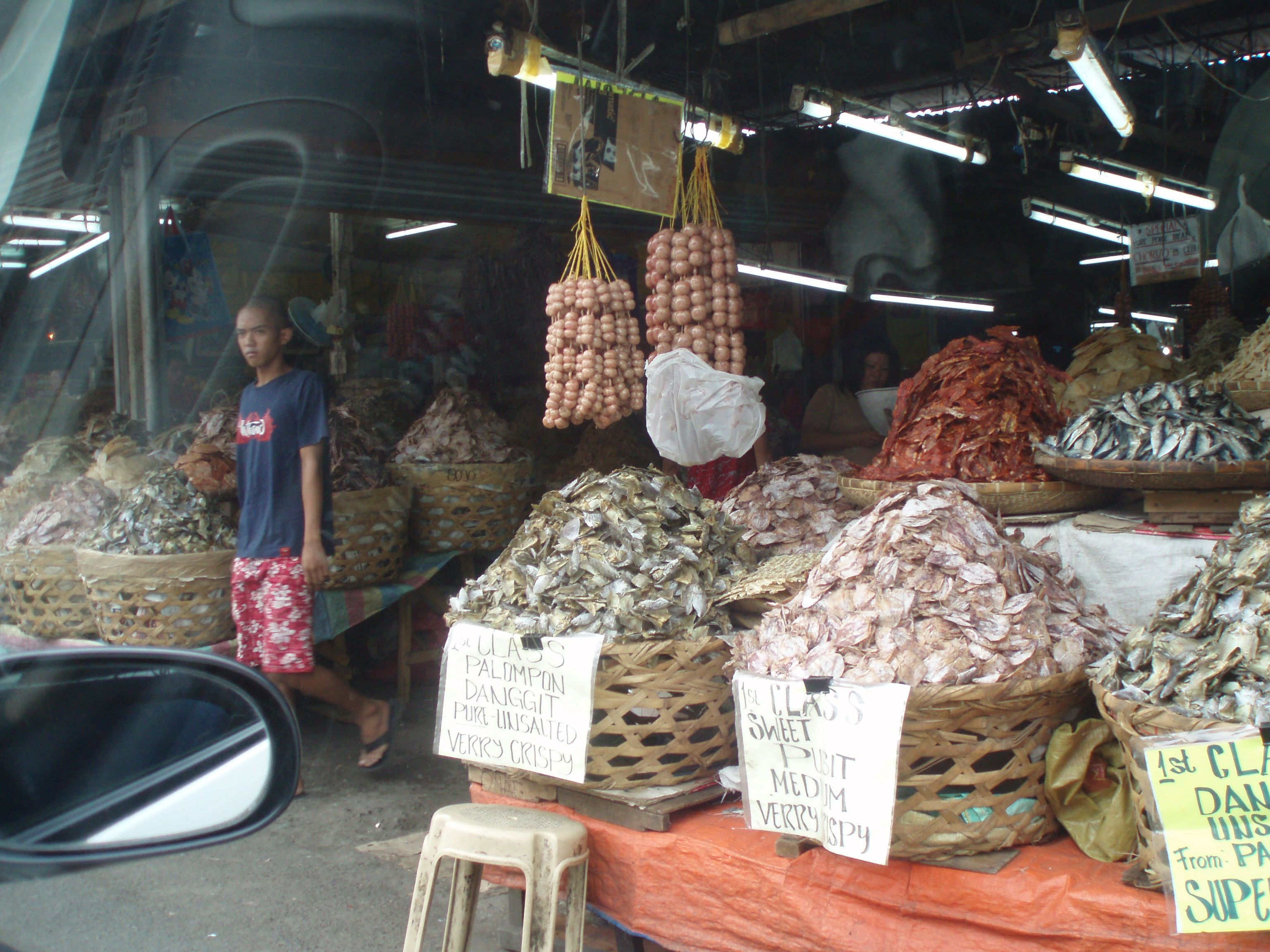 Dried fish market cebu city philippines pinterest for City fish market