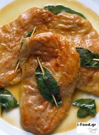 Saltimbocca alla romana - Συνταγή i-Food.gr by Giorgio Spanakis