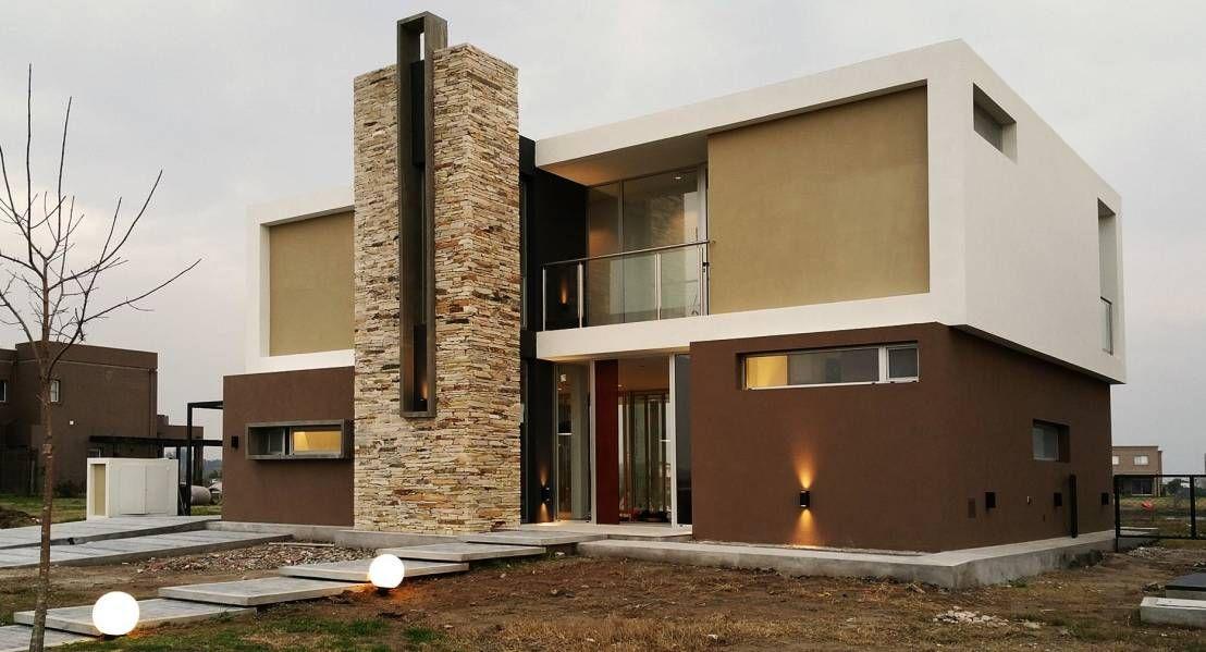 Una casa moderna lista para disfrutar casa de dise o for Colores de casas modernas por fuera