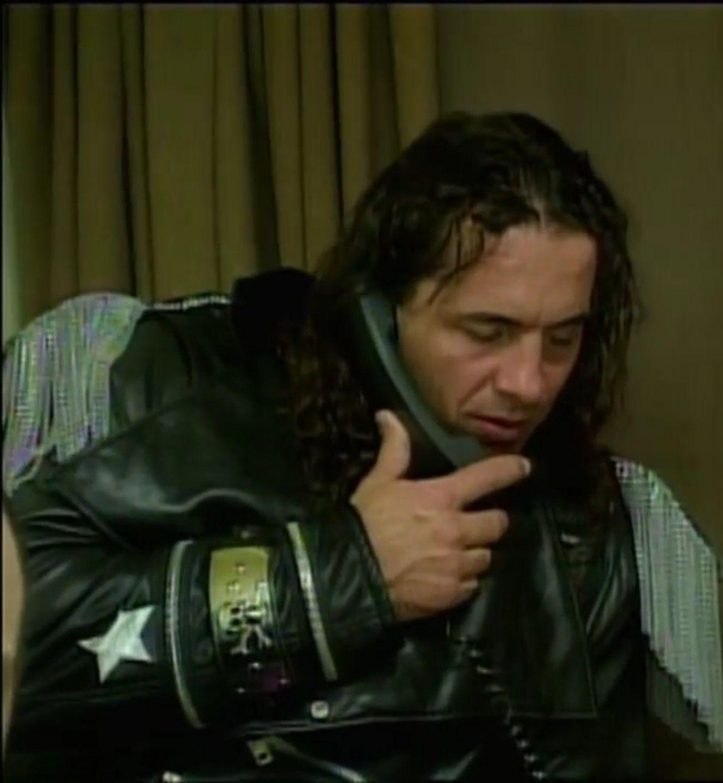 Bret Hitman Hart Lovin How Looks In This Pic Sexiest Man Ever Hitman Hart Pro Wrestling Shawn Michaels [ 1440 x 1329 Pixel ]