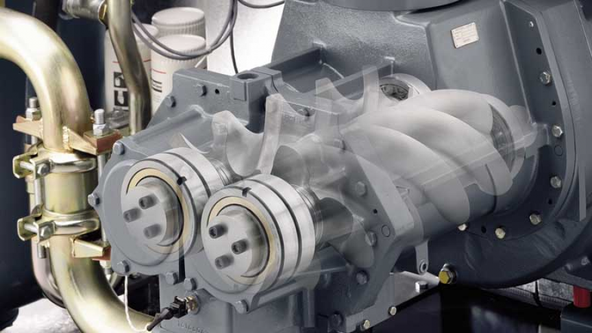How Does a Rotary Screw Air Compressor Work?