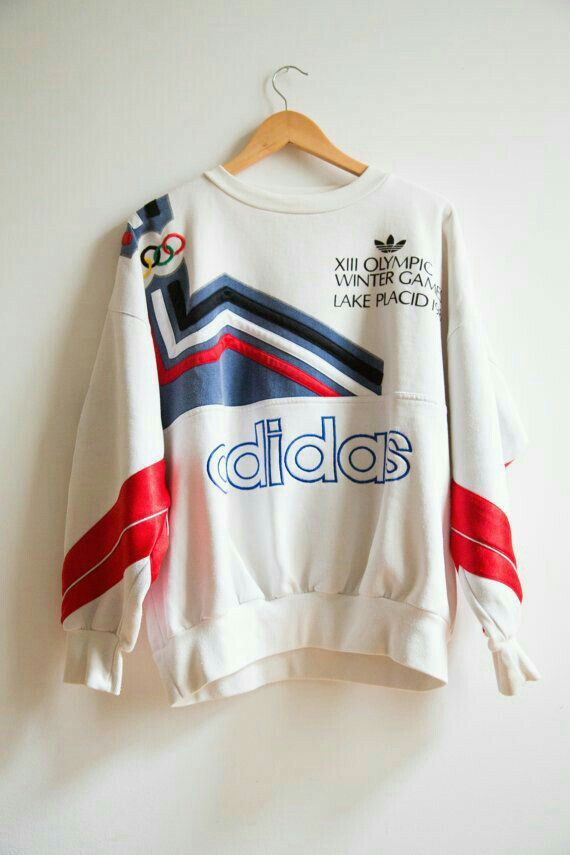1932 1980 Collector Adidas XIII Winter Olympic Games Lake
