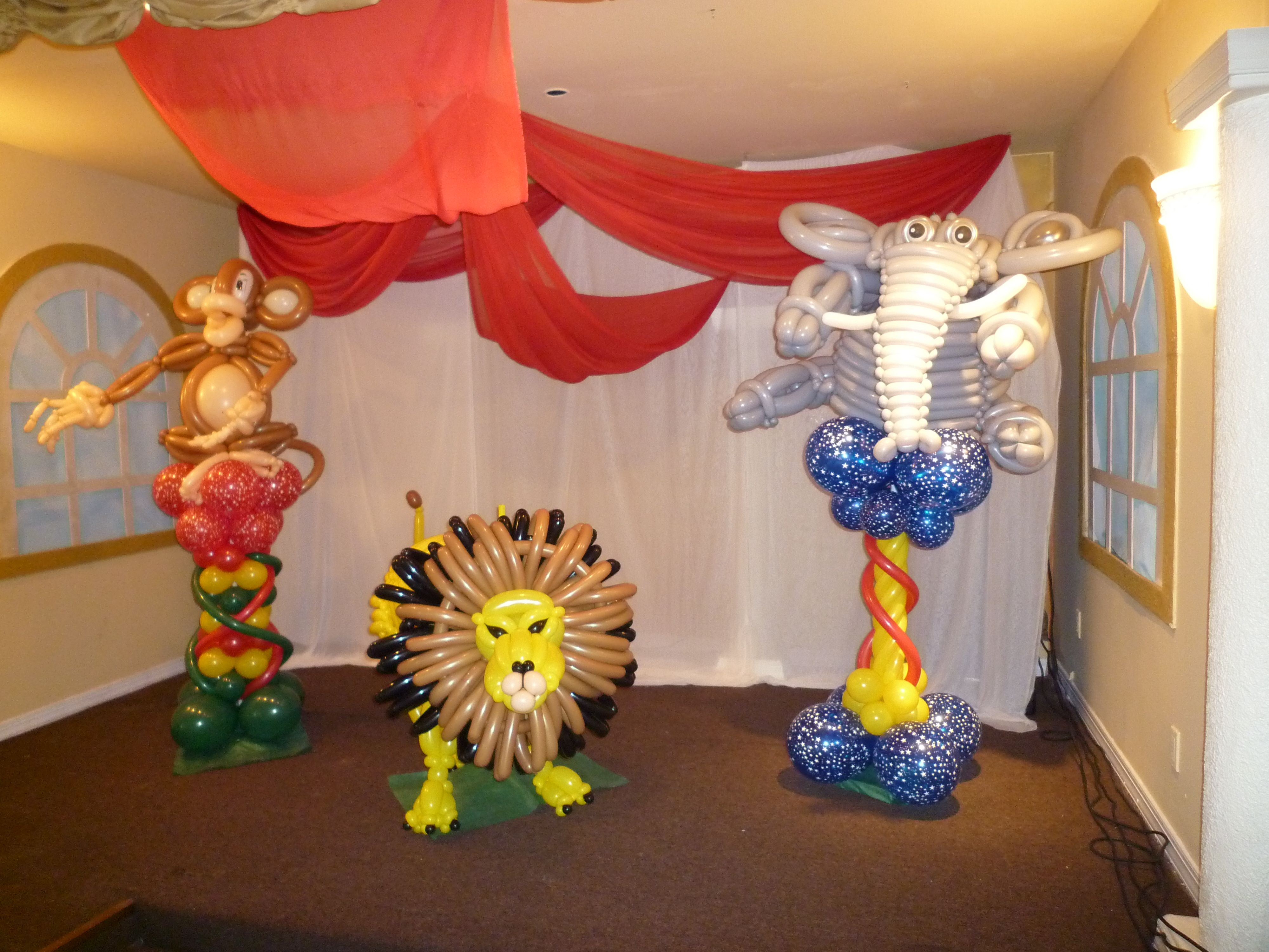 Pin By Mr Balloon Man On Decoration Kids Party Decorations Balloons Balloon Decorations
