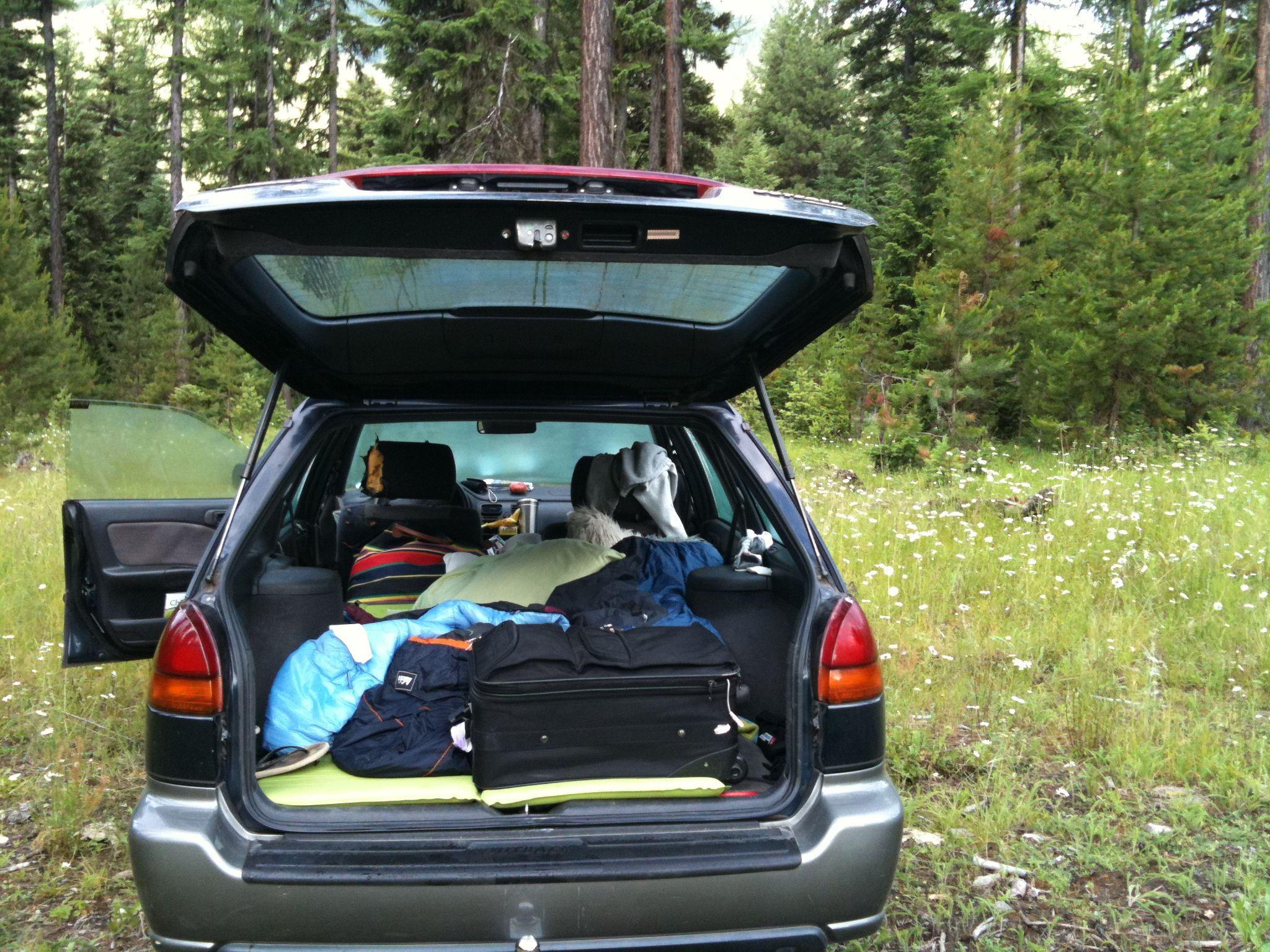 Road Trip Dispersed Camping The Bed Car