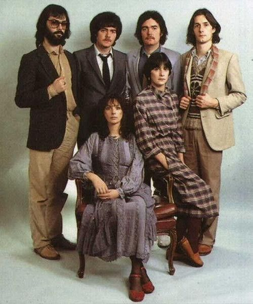 Early Clannad when Enya was still with the group.