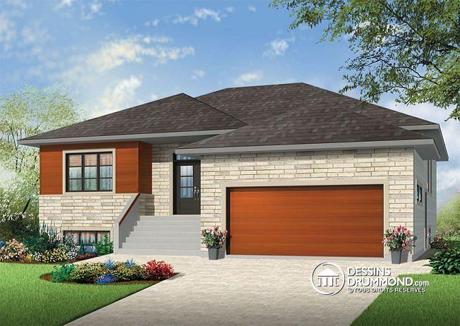 Plan de maison unifamiliale Millois 2 No W3280-V1 Maison