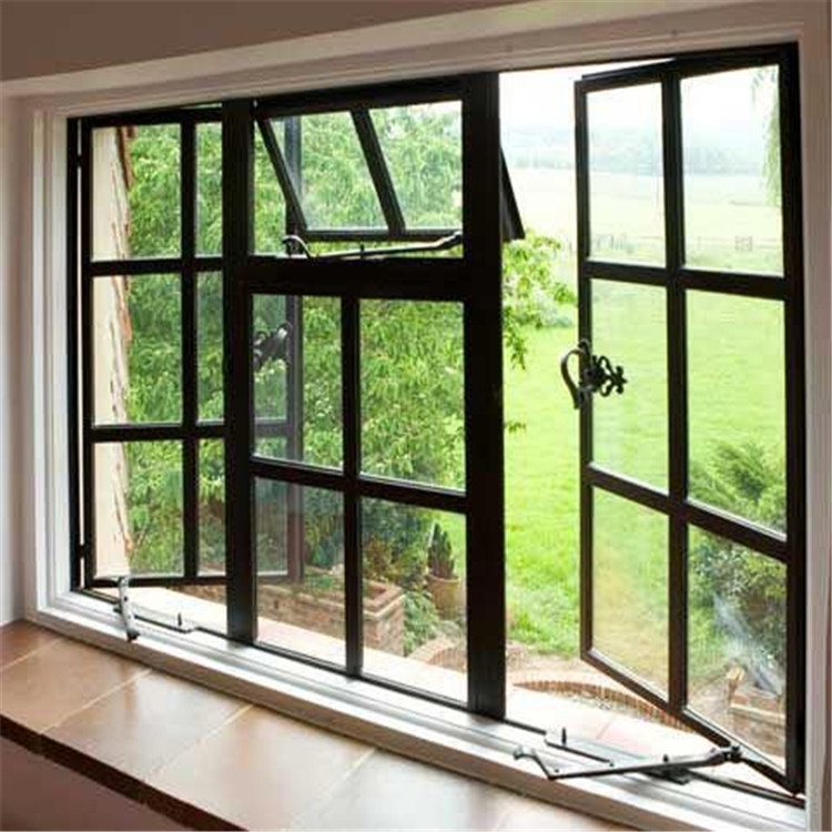 Topwindow Aluminum 4 Panels Casement Windows Aluminium Frame