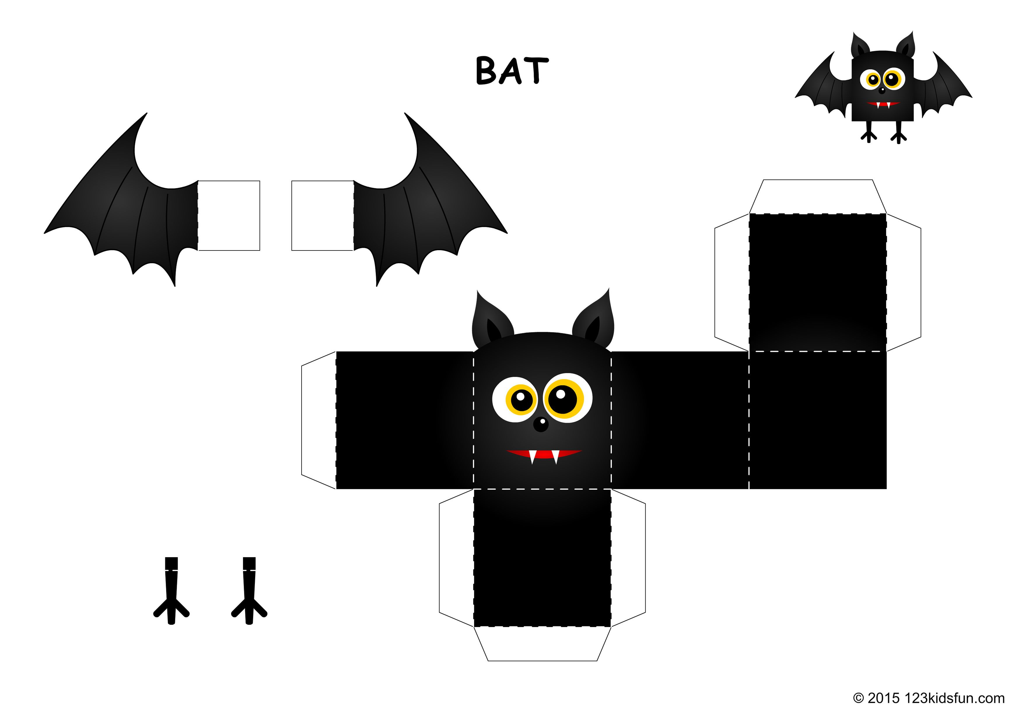 Halloween 123 Kids Fun Apps Halloween Paper Crafts Halloween Printables Free Halloween Crafts Decorations