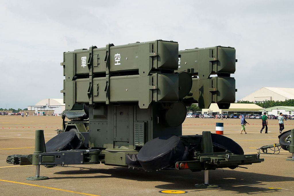 Skyguard Air Defense System - Sparrow Surface-to-Air Missile (Taiwan)