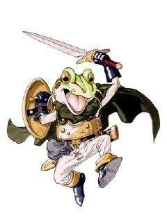 クロのトリガーのカエル クロノトリガー キャラクターアート かわいいイラスト