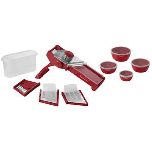 Kitchenaid Mandoline Slicer Set Red