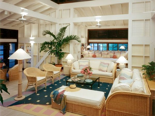 Decorating With A Caribbean Influence Hawaiian Home Decor Tropical Home Decor Tropical Living Room
