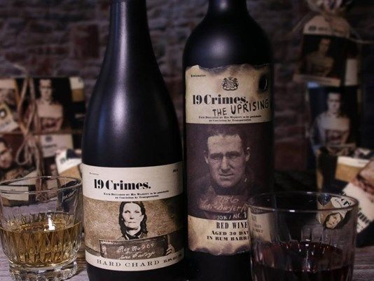 This 19 Crimes wine app uses augmented reality to give us