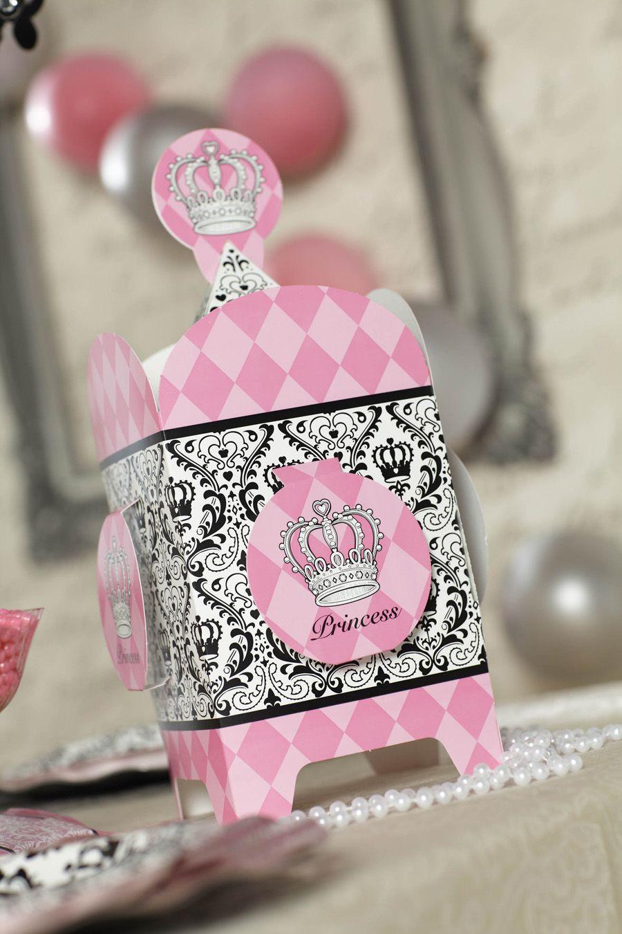 Elegant Princess Damask Birthday Party Supplies Birthday Girls
