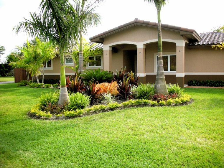jardines de casas con palmeras el decorar nuestro jard n